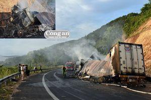 Thảm cảnh vụ tai nạn khiến 3 người chết cháy