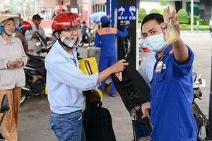 Từ 15g ngày 8-5, xăng dầu đồng loạt tăng giá