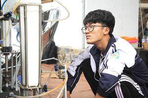 Nam sinh xứ Nghệ đã được cấp visa đi Mỹ thi khoa học kỹ thuật quốc tế