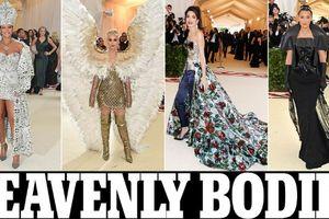 Rihanna hóa nữ hoàng, Katy Perry tung cánh thiên thần, Miley Cyrus dịu dàng bất ngờ trên thảm đỏ Met Gala