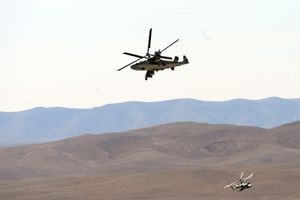 Trực thăng tấn công Ka-52 của Nga rơi tại Syria, 2 phi công tử nạn