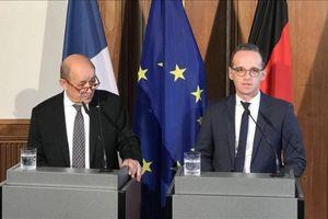 Đức, Pháp cam kết duy trì thỏa thuận hạt nhân Iran
