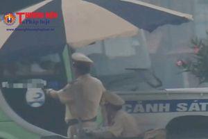 Hoạt động tuần tra kiểm soát của CSGT tại tuyến đường Hà Nam