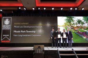 Khu đô thị Mizuki Park nhận 2 giải quốc tế