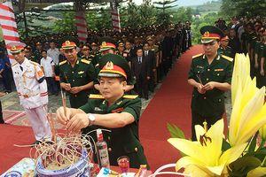Hà Tĩnh: Tổ chức truy điệu, an táng 12 hài cốt liệt sĩ