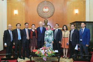 Tăng cường hợp tác giữa UBTƯ MTTQ Việt Nam với CESE