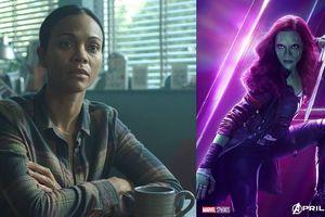 Gamora của 'Avengers' tái xuất trong phim đại chiến với gã khổng lồ