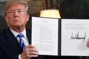 Trump xé bỏ thỏa thuận Iran, nguy cơ xung đột tăng mạnh ở Trung Đông