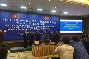 Đẩy mạnh hợp tác kinh tế, thương mại và logistics Việt Nam- Trung Quốc