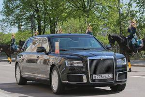 Lộ diện limousine chở Tổng thống Putin đến lễ nhậm chức