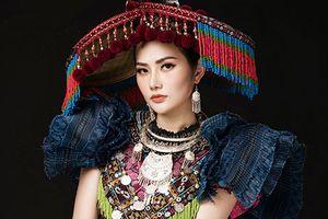 Diệu Linh mang trang phục dân tộc H'Mông đến Miss Tourism Queen International