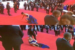 Vóc dáng gợi cảm của người đẹp vồ ếch trên thảm đỏ Cannes