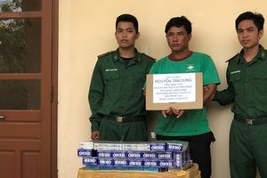 Vận chuyển 6.000 gói thuốc lá lậu, ngư dân ở Phú Quốc bị tóm gọn