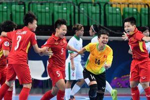 Việt Nam giành quyền vào bán kết Giải vô địch Futsal nữ châu Á, gặp đối thủ mạnh