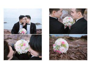 Xúc động đám cưới đồng tính của hai hot boy tại Hải Phòng