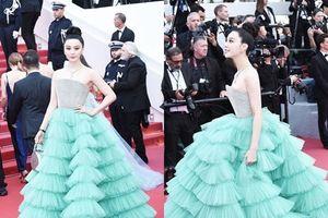 Phạm Băng Băng bị chê mặc váy lỗi mốt trên thảm đỏ Cannes 2018