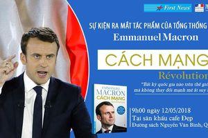 Ra mắt sách 'Cách mạng' của Tổng thống Emmanuel Macron