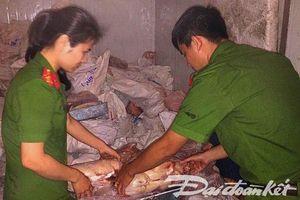 Nghệ An: Thu giữ gần 5 tấn thực phẩm không rõ nguồn gốc