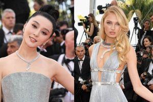 Giai nhân châu Á rực rỡ trên thảm đỏ khai mạc LHP Cannes