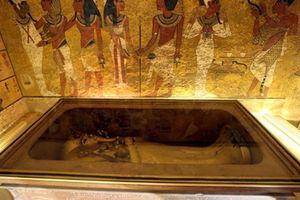 Không có 'căn phòng bí mật' nào trong hầm mộ Vua Tutankhamun