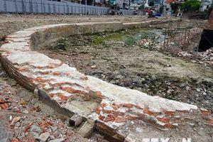 Đà Nẵng: Phát lộ tường hào, nền móng ở Di tích Thành Điện Hải