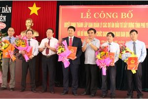 Nhân sự mới: Quảng Ninh, Phú Yên, Đồng Tháp, Ninh Bình