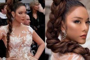 Bất ngờ Lý Nhã Kỳ 'nhuộm da nâu' mặc xuyên thấu trên thảm đỏ Cannes