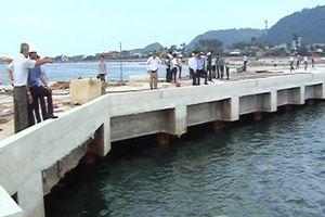 Khẩn trương hoàn thành dự án cảng Bến Đình