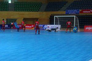 Vòng loại Futsal VĐQG HDBank 2018: Tân Hiệp Hưng thắng kịch tính Hoàng Thư Đà Nẵng