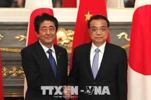 Trung Quốc - Nhật Bản nhất trí thúc đẩy quan hệ