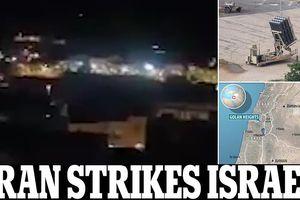 Cáo buộc Iran tấn công tên lửa, Israel lập tức đáp trả