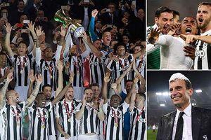 Juventus vùi dập Milan, đăng quang danh hiệu