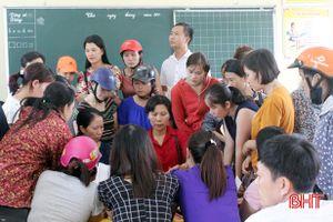 Số lượng học sinh đầu cấp tăng, TP Hà Tĩnh lo thiếu giáo viên đứng lớp