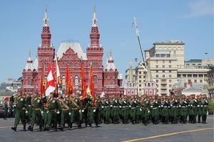 Những hình ảnh ấn tượng trong lễ duyệt binh tại Quảng trường Đỏ