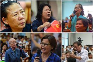 Dân Thủ Thiêm vỡ òa cảm xúc khi gặp gỡ Đoàn Đại biểu Quốc hội