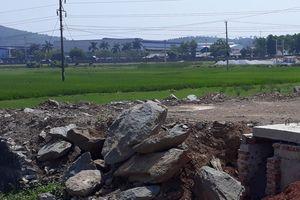 Hà Trung -Thanh Hóa: Dự án hạ tầng khu dân cư Đồng Bắn có dấu hiệu sai phạm?