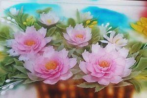 10 'cao thủ' làng bánh làm tranh thạch 3D khổng lồ mừng Ngày của Mẹ