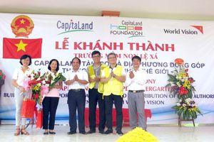 CapitaLand khánh thành Trường mầm non Lệ Xá CapitaLand Hope tại Hưng Yên