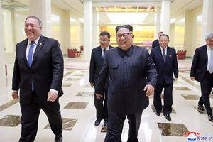 Ngoại trưởng Mỹ tươi cười gặp gỡ lãnh đạo Triều Tiên Kim Jong-un