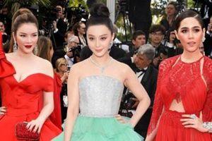 'Cuộc chiến thời trang' của Lý Nhã Kỳ và dàn sao châu Á tại Cannes
