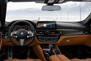 Soi từng milimet bên trong xế hiệu năng BMW M5 Competition 2019