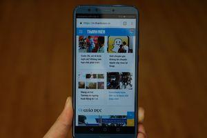 Cận cảnh smartphone tầm trung Honor 9 Lite trang bị 4 camera
