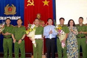 Khen thưởng Ban chuyên án Công an quận Hồng Bàng