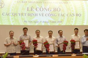 Hà Nội: Điều động, bổ nhiệm 5 Phó Giám đốc Sở, Ban Quản lý dự án