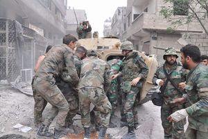 Khốc liệt cuộc chiến đường phố tại hỏa ngục Yarmouk, Syria