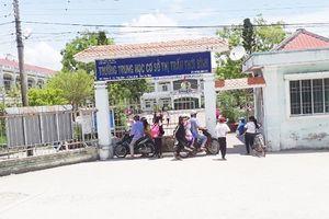 Công an điều tra vụ thầy giáo bị tố 'sàm sỡ' nhiều nữ sinh THCS