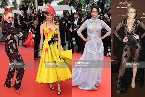 Những nhân vật 'lố và lộ' gây nhức mắt trên thảm đỏ Cannes 2018 ngày thứ 3