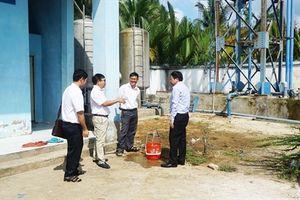 Người dân Tân Phú yên tâm dùng nước sạch