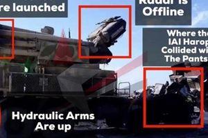 Syria công bố hình ảnh 'minh oan' cho tổ hợp Pantsir-S1 trúng tên lửa Israel