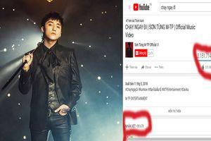 'Chạy ngay đi' của Sơn Tùng cán mốc 1 triệu view chỉ sau 18 phút phát hành